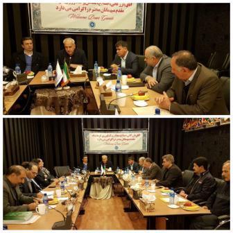 رئیس اتاق بازرگانی یاسوج نماینده اتاق های سراسرکشور برای بازسازی ۵۰ مدرسه در مناطق زلزله زده کرمانشاه