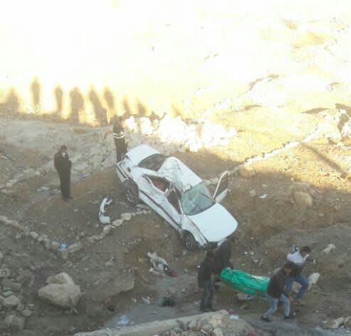 کشته و زخمی شدن سه نفر در تصادفی در یاسوج